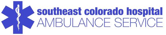 SECH Ambulance Service Logo Blue